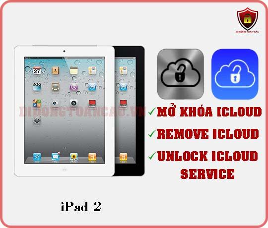 Mở khóa iCloud iPad 2