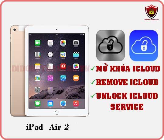 Mở khóa iCloud iPad Air 2
