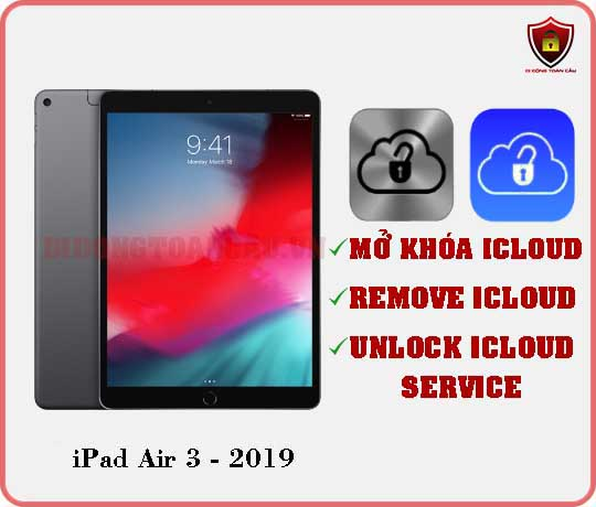 Mở khóa iCloud iPad Air 3 2019