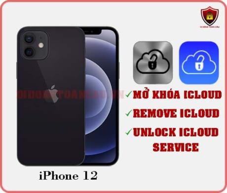 Mở khóa iCloud iPhone 12