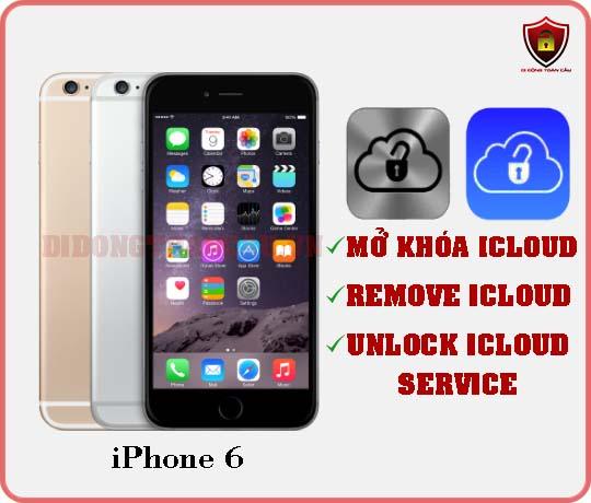 Mở khóa icloud iPhone 6
