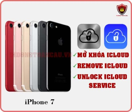 Mở khóa iCloud iPhone 7