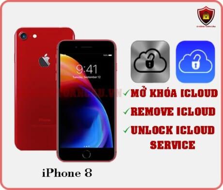 Mở khóa iCloud iPhone 8