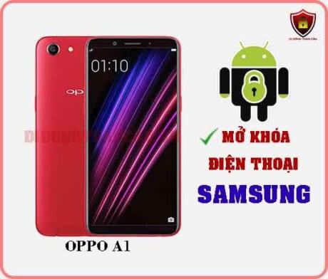 Mở khoá điện thoại OPPO A1