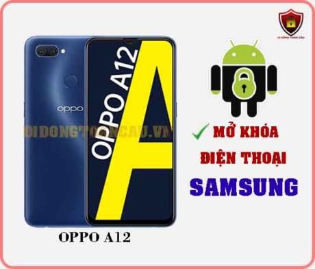 Mở khoá điện thoại OPPO A12