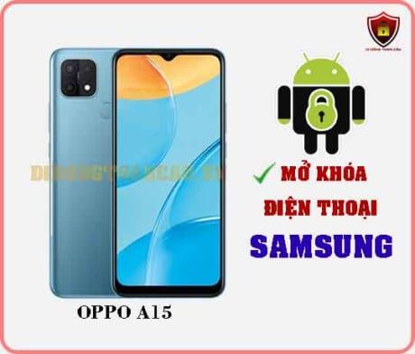 Mở khoá điện thoại OPPO A15