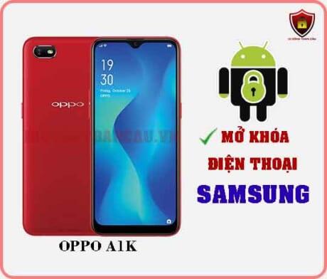 Mở khoá điện thoại OPPO A1K