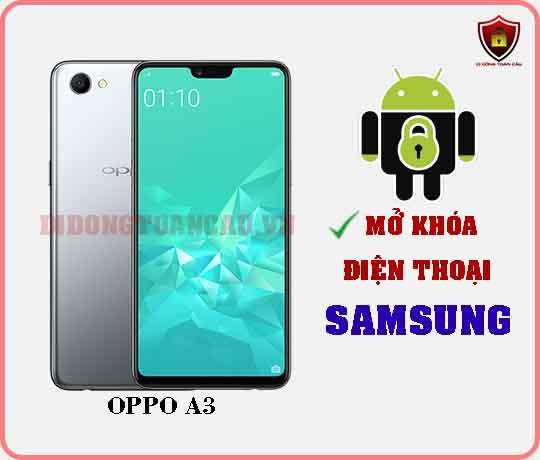 Mở khoá điện thoại OPPO A3