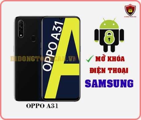 Mở khoá điện thoại OPPO A31