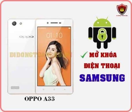 Mở khoá điện thoại OPPO A33