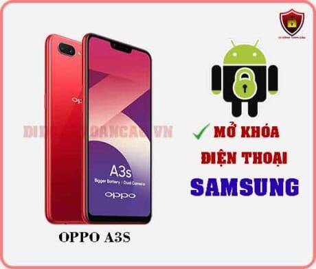 Mở khoá điện thoại OPPO A3S
