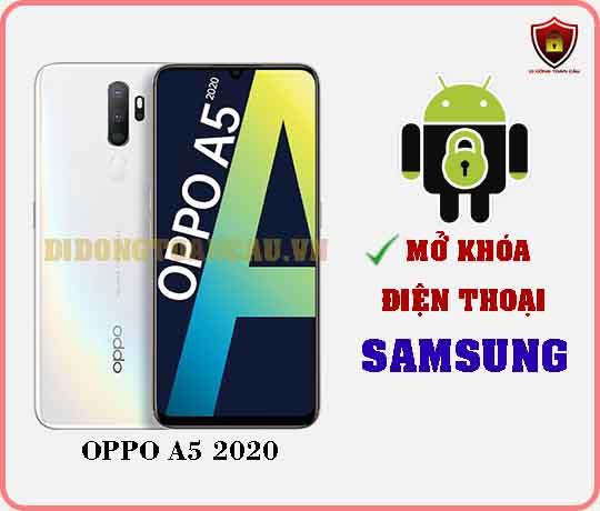 Mở khoá điện thoại OPPO A5 2020