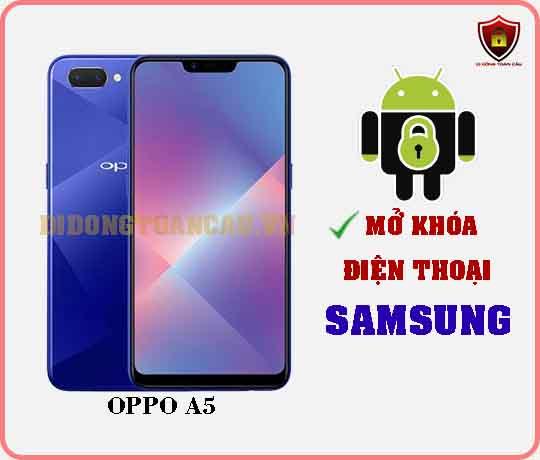 Mở khoá điện thoại OPPO A5