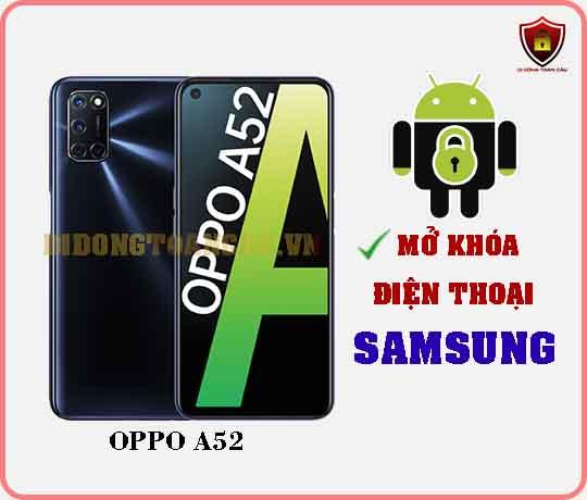 Mở khoá điện thoại OPPO A52