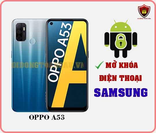 Mở khoá điện thoại OPPO A53