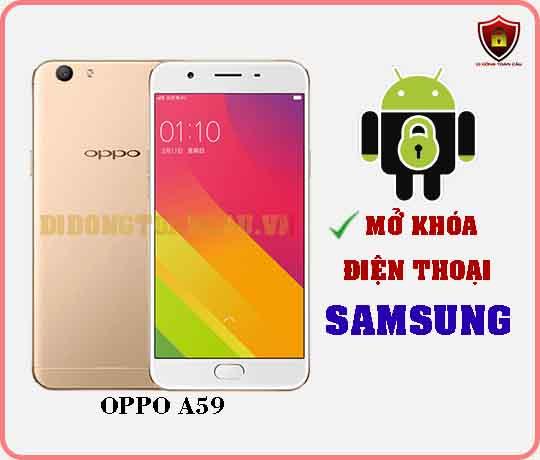 Mở khoá điện thoại OPPO A59