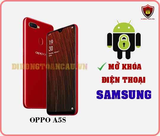 Mở khoá điện thoại OPPO A5S