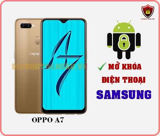 Mở khoá điện thoại OPPO A7