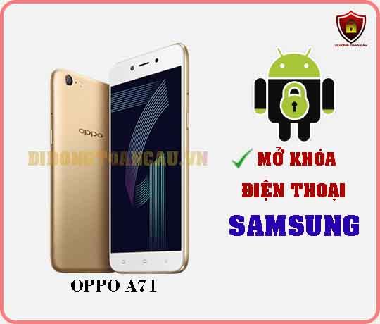 Mở khoá điện thoại OPPO A71