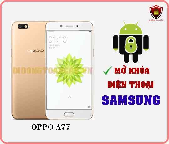 Mở khoá điện thoại OPPO A77