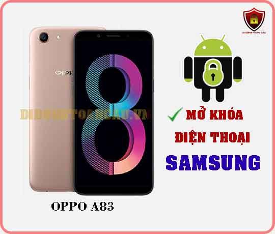 Mở khoá điện thoại OPPO A83