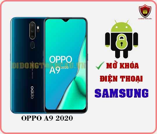 Mở khoá điện thoại OPPO A9 2020