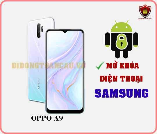 Mở khoá điện thoại OPPO A9