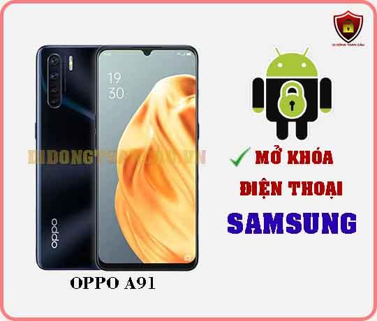 Mở khoá điện thoại OPPO A91