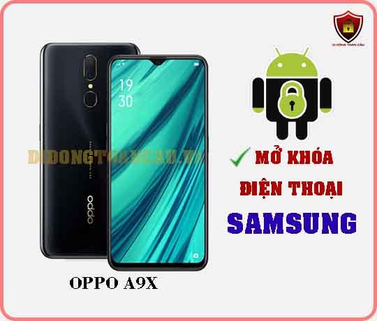 Mở khoá điện thoại OPPO A9X