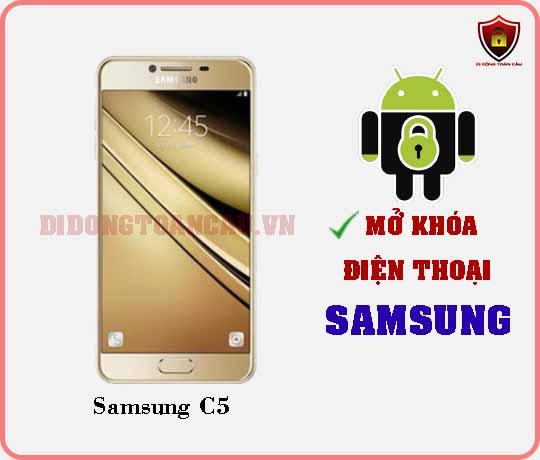 Mở khoá điện thoại Samsung C5