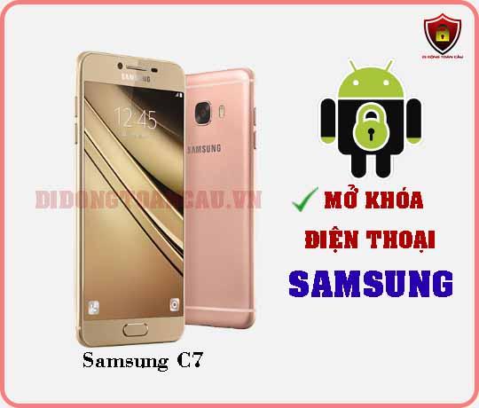 Mở khoá điện thoại Samsung C7