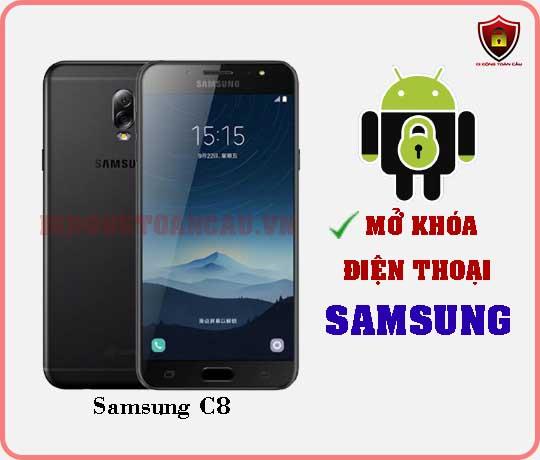 Mở khoá điện thoại Samsung C8