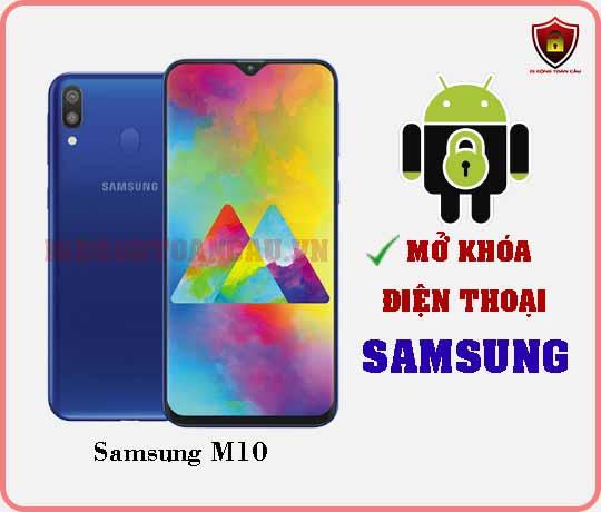 Mở khoá điện thoại Samsung M10