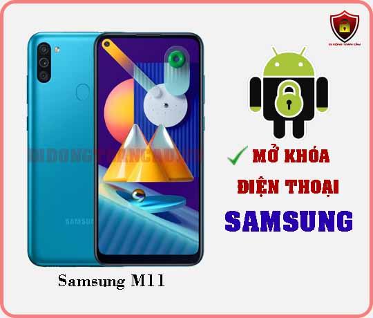 Mở khoá điện thoại Samsung M11