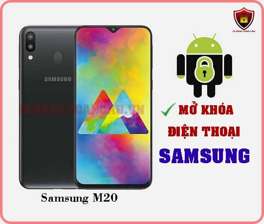 Mở khoá điện thoại Samsung M20