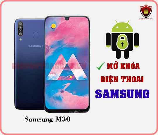 Mở khoá điện thoại Samsung M30