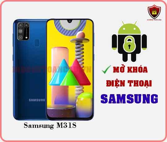 Mở khoá điện thoại Samsung M31S