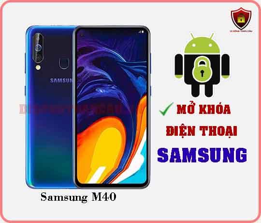 Mở khoá điện thoại Samsung M40