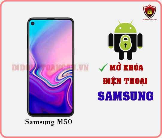 Mở khoá điện thoại Samsung M50