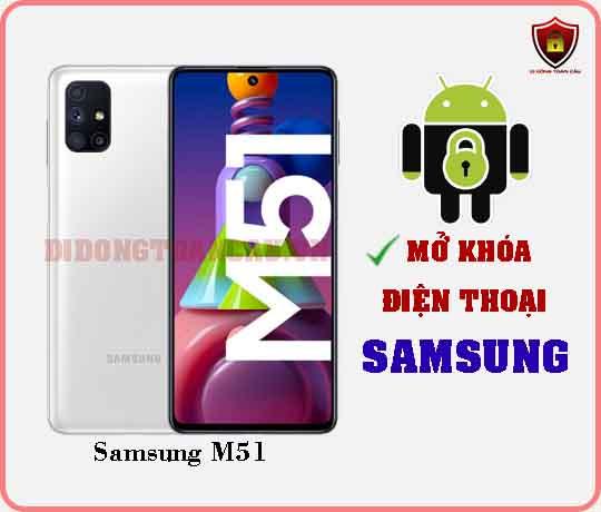 Mở khoá điện thoại Samsung M51