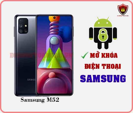 Mở khoá điện thoại Samsung M52