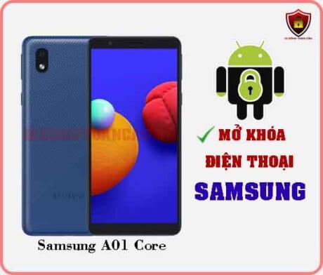 Mở khoá điện thoại Samsung A01 Core