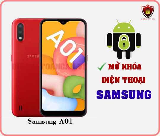 Mở khoá điện thoại Samsung A01