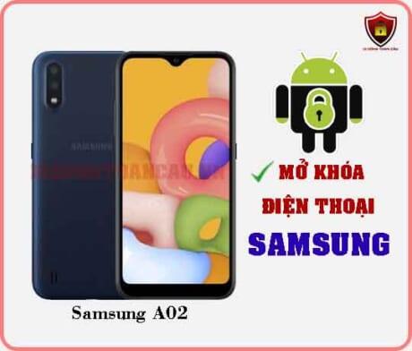 Mở khoá điện thoại Samsung A02
