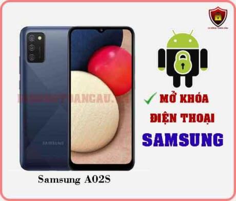 Mở khoá điện thoại Samsung A02S