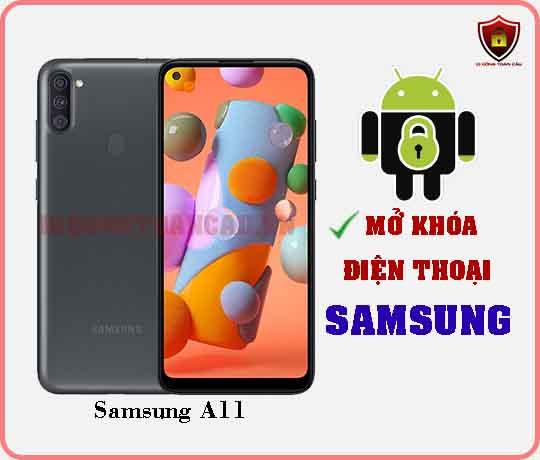 Mở khoá điện thoại Samsung A11