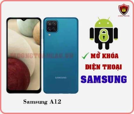 Mở khoá điện thoại Samsung A12
