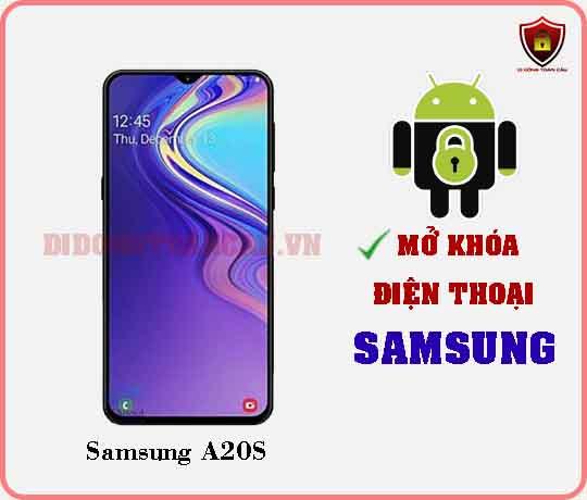 Mở khoá điện thoại Samsung A20S