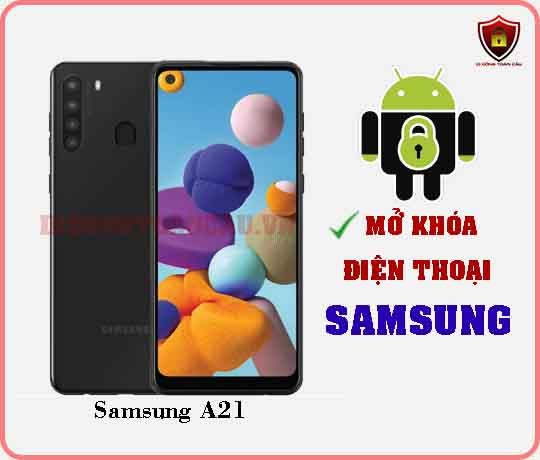 Mở khoá điện thoại Samsung A21
