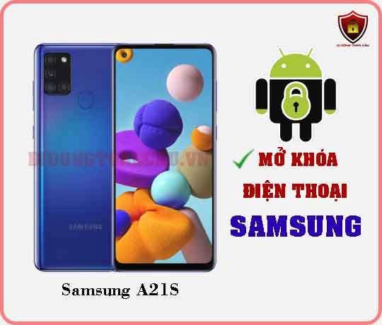 Mở khoá điện thoại Samsung A21S